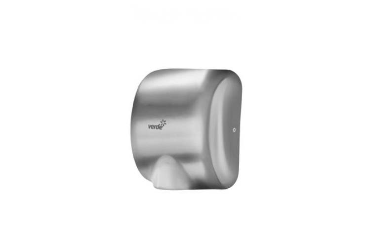 New Verde Verde Ak2801 Hand Dryer Mighty - Brushed Satin Stainless Steel 325Mm