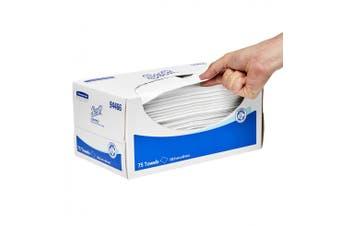 New Scott Control  944 Wiper Reinforced - White, 32.5Cm W X 33Cm D Small Carton