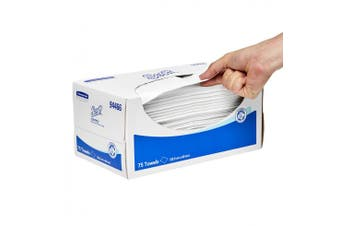 New Scott Control  944 Wiper Reinforced - White, 32.5Cm W X 60Cm D Large Carton