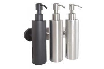 New Bradley 6330 Soap Dispenser Liquid 200Ml - Silver 203Mm H X 90Mm D