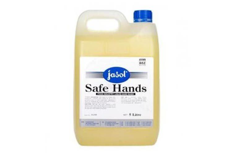 New Jasol Safe Hands Premium Hand Cleaner With Built In Sanitiser - Yellow 5