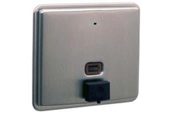 New Bobrick Contura B4063 Soap Dispenser Recessed 1.2L - Silver 180Mm W X 160Mm