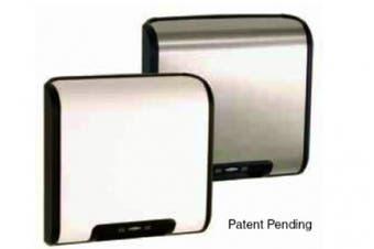 New Bobrick Trimline Hand Dryer Auto Warm-Air - White Painted Metal 350Mm W X