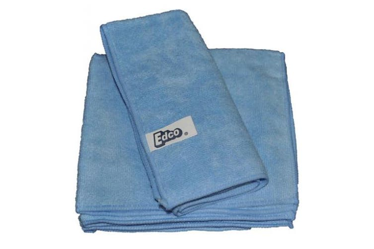 New Edco Cleaning Merrifibre 580 All Purpose Microfibre Cloths - Red Pack (3