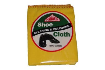 New Edco Cleaning Pinnacle 18793 Shoe Polishing Cloth - Yellow Single