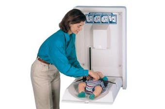 New Best Buy Infant Baby Change Table Bbr-003 Vertical Plastic Surface Mounted -