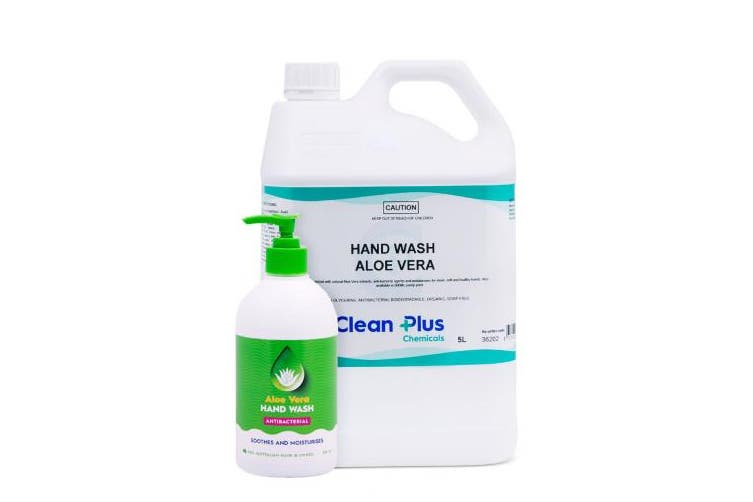 New Best Buy Cleanhands 362 Aloe Vera Liquid Hand Soap Anti-Bacterial - Green 1