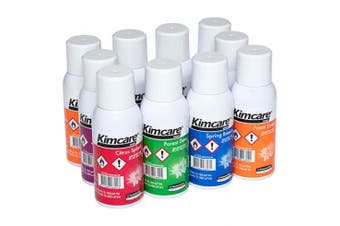 New Kimcare 689 Micromist Fragrance Refill - Citrus Splash Carton (12 Canisters)