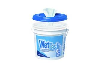 New Kimtech Wettask 06411 Wipers - White Carton (6 Rolls)