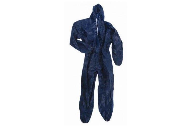 New Steeldrill Disposable Polyprop Overalls - Navy Xxl
