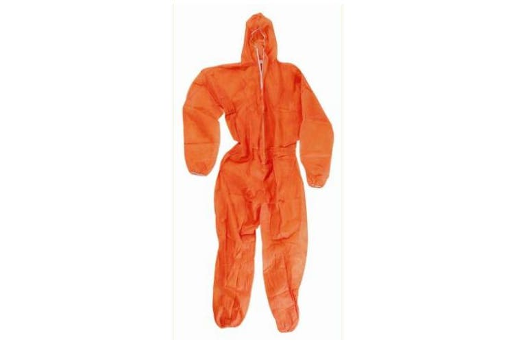 New Steeldrill Disposable Polyprop Overalls - White Xl