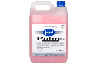New Jasol Handcare Palms Bathroom Soap - Pink 5 Litres