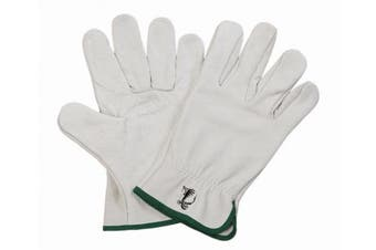 New Steeldrill Cobra  4711 Grey Rigger Gloves - White/Yellow Size 11(Xl) - Pair