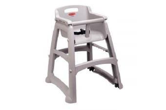 New Rubbermaid Infant 7814 High Chair Without Tray - Silver 597Mm L X 597Mm W X
