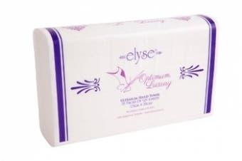 New Elyse Luxury 4456 Hand Towel Optimum - 23.5Cm X 30Cm, White Carton (20