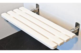 New Superquip Sapphire 077 Shower Seat Folding Slats - White Slats 450Mm W