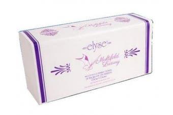 New Elyse Luxury 2323 Hand Towel Multifold - 23Cm X 23Cm, White Carton (16