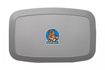 New Koala Kare Baby Change Table Kb200-01 Horizontal - Grey 893Mm X 565Mm