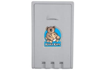 New Koala Kare Kb101-01 Baby Change Table Vertical - Grey 559Mm X 902Mm