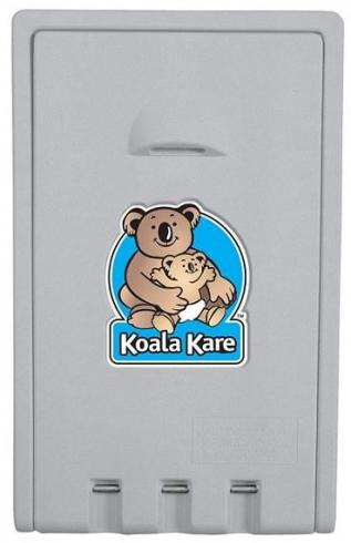 Image of: New Koala Kare Kb101 01 Baby Change Table Vertical Grey 559mm X 902mm Matt Blatt