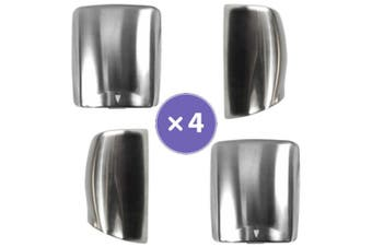 New Best Buy Combo Bbh Hand Dryers Pack Of 4 - Brushed Stainless Steel 4