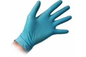 New Mediflex Nitex Disposable Gloves, Powder Free, Nitrile, Extra Small - Blue