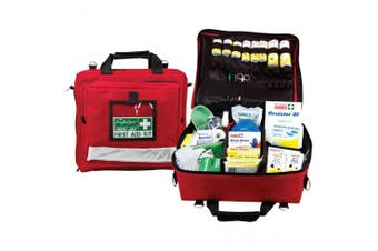 New Brady First Aid National Workplace Portable Soft Case Kit - Red