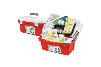 New Brady First Aid National Workplace Portable Polypropylene Case Kit - Red