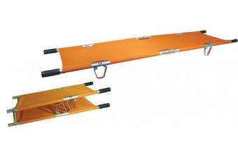 New Brady First Aid Folding Pole Stretcher - Orange H180mm X L2050mm X W570mm