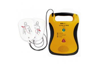 New Brady First Aid Lifeline Auto Complete Pack Defibrillator - Yellow Includes