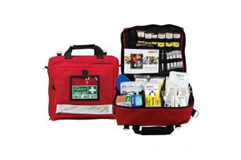 New Brady First Aid Electrical Trades Kit - Red Soft Case