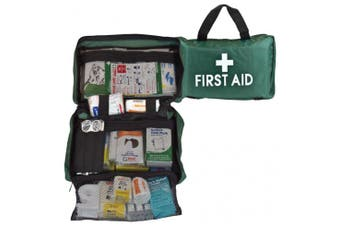 New Brady First Aid Small Remote Area Kit - Green Soft Case