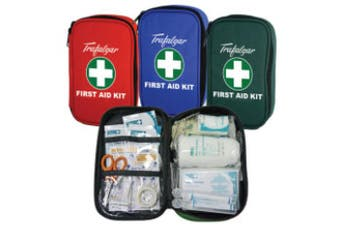 New Brady First Aid Vehicle and Low Risk Soft Case Kit - Blue