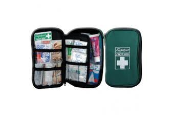New Brady First Aid Travel Kit - Green Soft Case