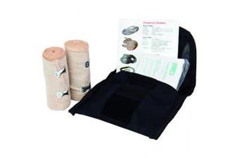 New Brady First Aid Snake Bite Kit - Black Soft Case