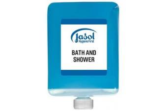 New Jasol Brightwell 2071501 Bath and Shower 6X1l Pods - Blue 6 X 1 Litre