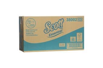 New Scott Essential 38002 Scott Hand Towel Multifold - White Carton (16 Packs)