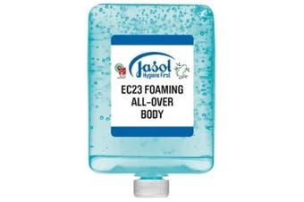 New Jasol Brightwell 2073871 Ec23 Foaming All-Over Body Wash 6X1l Pods - Blue 6