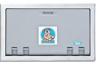New Koala Kare Kb100 Baby Change Table Horizontal - Grey/Stainless Steel