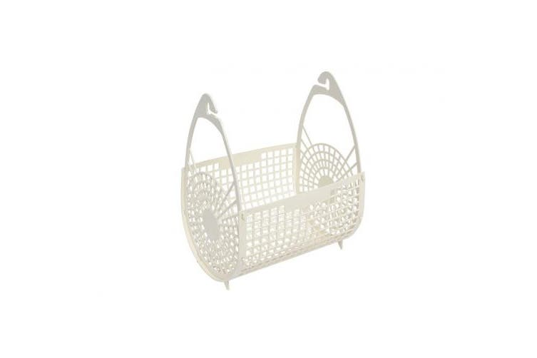 New Edco Household 18091 Plastic Peg Basket - Assorted Single