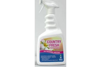 New Best Buy Country Fresh  Air Freshener and Sanitizer - Frangipani 750Ml