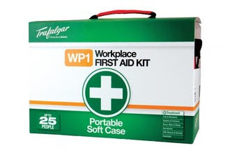 New Brady Occupation  Portable Workplace First Aid Kit Soft Case - Red 310 X 220