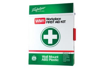 New Brady Occupation  Wall Mounted Workplace First Aid Kit - Plastic 300 X 390 X