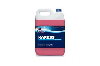 New True Blue Karess Liquid Hand Soap - Pink Viscous Liquid Single 5L