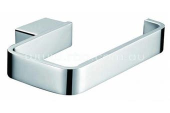 New Rba Aska Rba1643 Toilet Roll Holder Single - Bright Chrome Finish 138Mm [W]