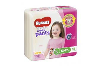 New Huggies Ultradry  Nappy Pants Gender Specific - Disney Designs Boy Size 6,