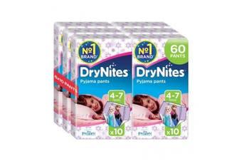New Huggies Drynites Pyjama Pants With Disney/Pixar/Marvel Print - Girls