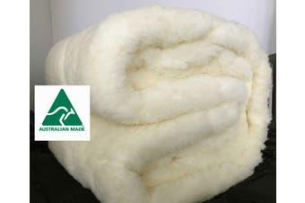 Strapped  Comfort Australian Wool Mattress Topper / UnderQuilt ( Queen size)