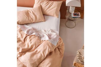 Linen House Nimes Nude Quilt Cover Set