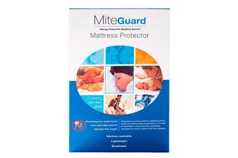 Mite-Guard Fully Encased Mattress Protector - King Single
